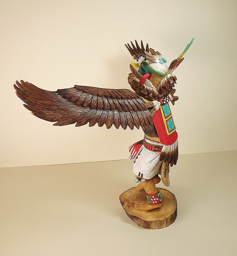 recipe: hopi eagle dancer kachina [29]