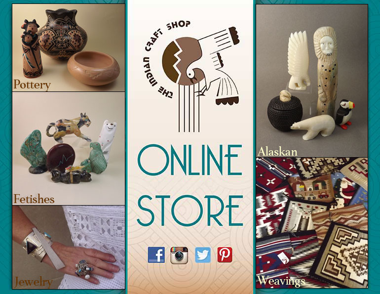 Store front online store indian craft shop for Online art stores us