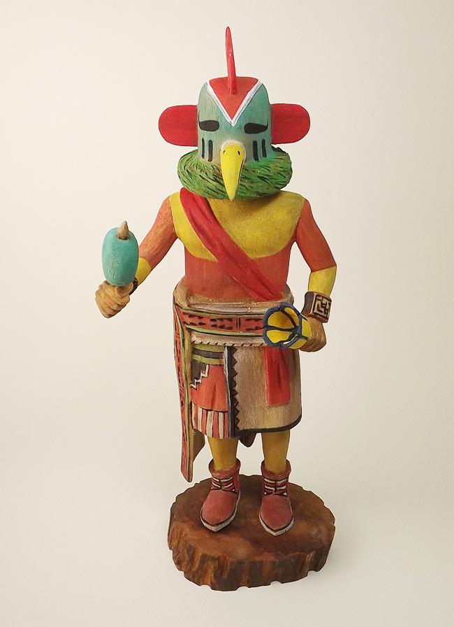 Washington Dc Sales Tax >> Chicken (Kowako) Kachina Doll by Alexander Youvella, Sr. (Hopi) SOLD