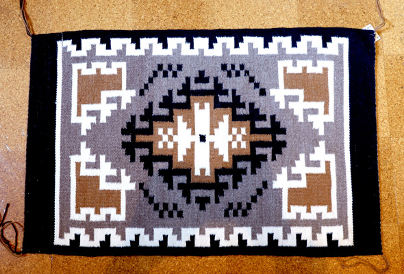 Navajo rug designs two grey hills Indian 2019 Indian Craft Shop Ecommerce Web Site Nativo Art Two Grey Hills Pattern By Lorraine Benally 37x25